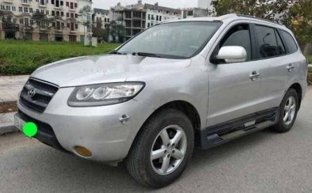 Bán Hyundai Santa Fe năm 2009, màu bạc, nhập khẩu Hàn Quốc số sàn, giá chỉ 435 triệu