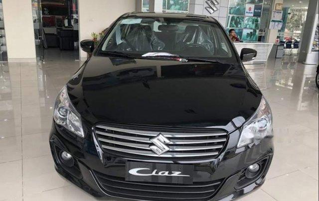Bán ô tô Suzuki Ciaz sản xuất 2019, màu đen, xe nhập giá cạnh tranh0