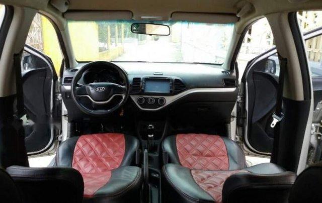 Cần bán lại xe Kia Morning 2013, màu bạc, nhập khẩu nguyên chiếc2