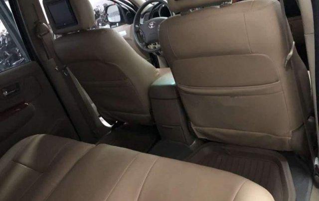 Cần bán lại xe Toyota Fortuner 2009, màu bạc, xe nhập xe gia đình, 495 triệu4