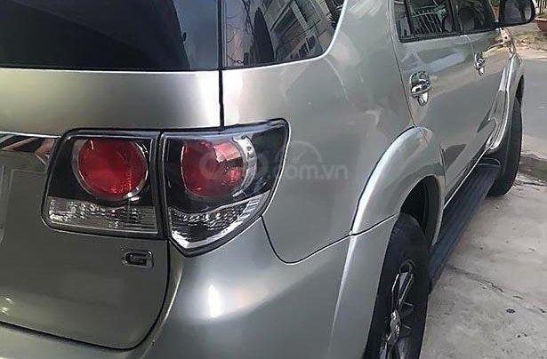 Bán gấp Toyota Fortuner 2.5 G sản xuất năm 2015, màu bạc  1