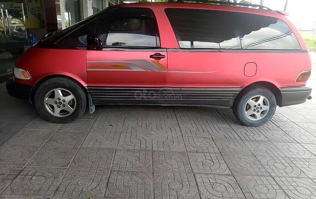 Bán xe cũ Toyota Previa đời 1993, màu đỏ, nhập khẩu  0