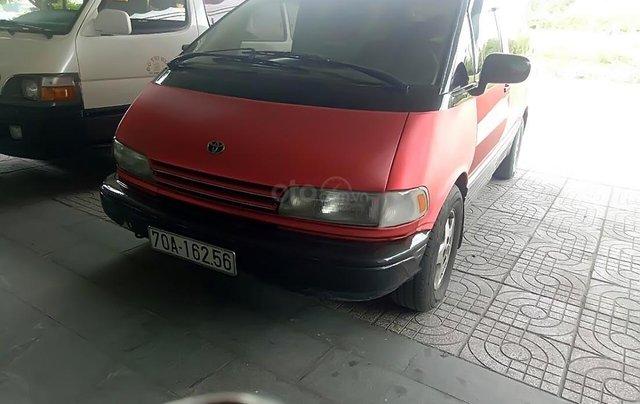 Bán xe cũ Toyota Previa đời 1993, màu đỏ, nhập khẩu  1
