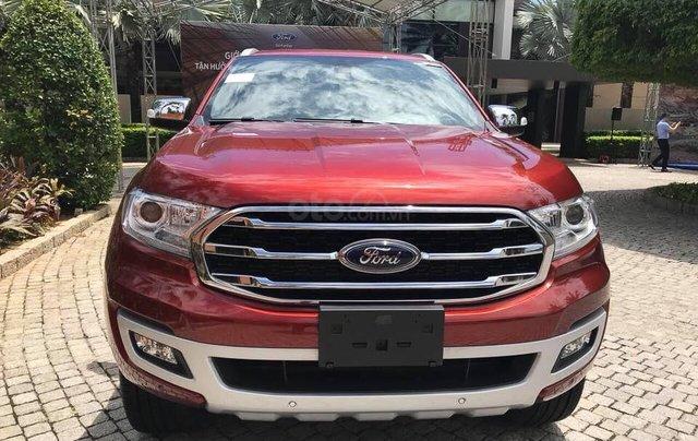Ford Everest Titanium 2019 giao ngay, tặng PK, hỗ trợ trả góp, Lh 09347991191