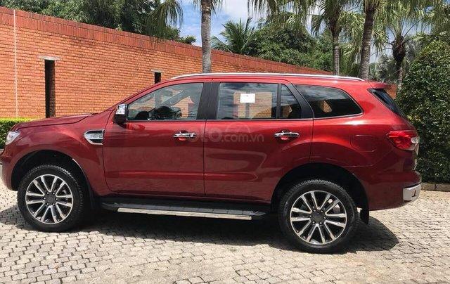 Ford Everest Titanium 2019 giao ngay, tặng PK, hỗ trợ trả góp, Lh 09347991190
