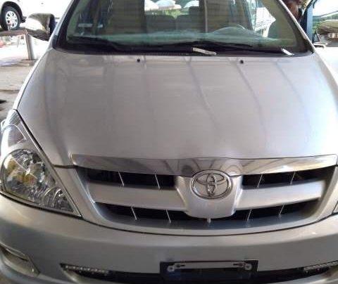Bán Toyota Innova J sản xuất năm 2007, màu bạc, xe nhập, 247 triệu0