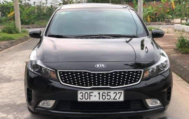 Bán ô tô Kia Cerato đời 2018, màu đen, số sàn 0