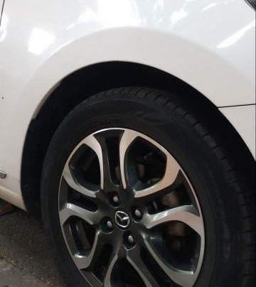 Bán Mazda 2 2015, màu trắng, xe nhập  5