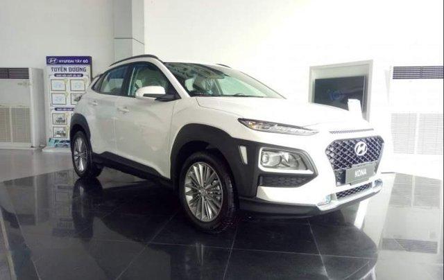 Bán Hyundai Kona đời 2019, màu trắng, 615 triệu0