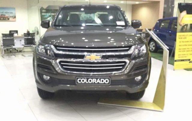 Cần bán xe Chevrolet Colorado đời 2018, màu đen, xe nhập, giá 605tr4