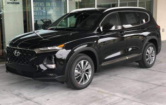 Bán Hyundai Santa Fe sản xuất 2019, màu đen giá cạnh tranh3