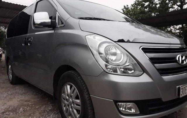 Bán Hyundai Grand Starex 2016, màu bạc, nhập khẩu  0