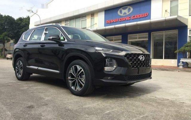 Bán Hyundai Santa Fe sản xuất 2019, màu đen giá cạnh tranh4