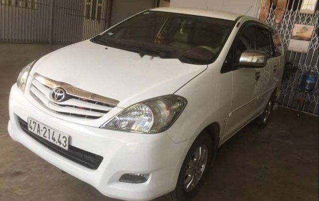 Bán Toyota Innova đời 2010, màu trắng, xe nhập1