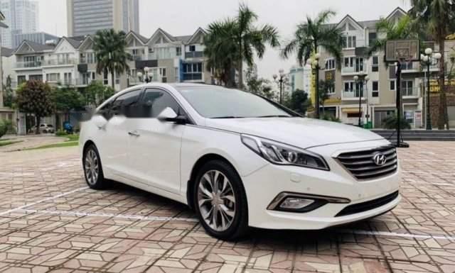 Bán Hyundai Sonata 2.0 năm sản xuất 2016, màu trắng1