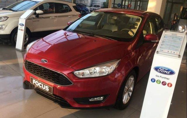 Bán ô tô Ford Focus năm sản xuất 2019, màu đỏ, giá 575tr0