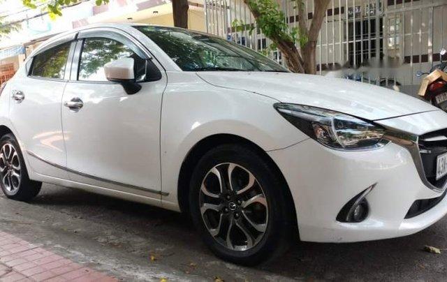 Bán Mazda 2 2015, màu trắng, xe nhập  0