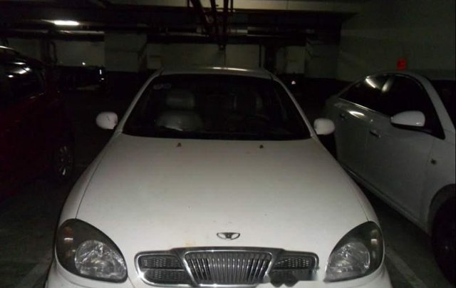 Bán Daewoo Lanos năm 2002, màu trắng giá cạnh tranh