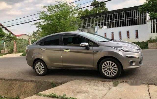 Bán Ford Fiesta 1.6 AT 2011, màu xám, xe nhập số tự động, 330 triệu0
