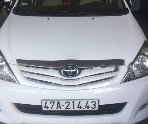 Bán Toyota Innova đời 2010, màu trắng, xe nhập0