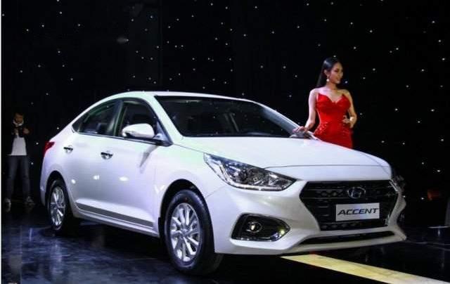 Bán Hyundai Accent sản xuất năm 2019, màu trắng1