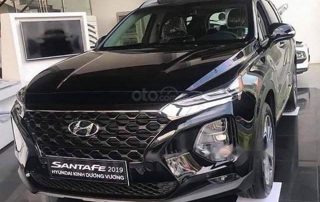 Bán Hyundai Santa Fe sản xuất 2019, màu đen giá cạnh tranh0
