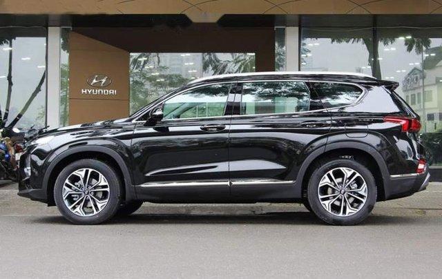 Bán Hyundai Santa Fe sản xuất 2019, màu đen giá cạnh tranh1