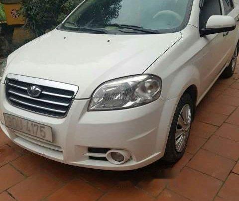 Bán ô tô Daewoo Gentra 2009, màu trắng, nhập khẩu giá cạnh tranh0