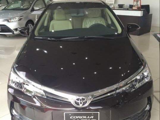 Bán xe Toyota Corolla altis đời 2019, màu nâu1