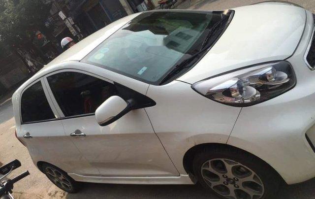 Bán ô tô Kia Morning Si đời 2016, màu trắng chính chủ giá cạnh tranh3