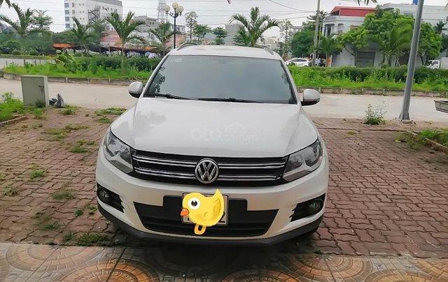 Cần bán Volkswagen Tiguan 2.0 TSI sản xuất năm 2016, màu trắng, nhập khẩu chính chủ0