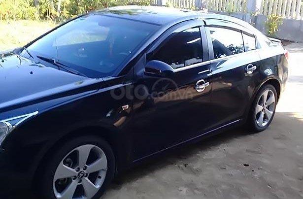 Cần bán lại xe Daewoo Lacetti đời 2010, màu đen, nhập khẩu  2