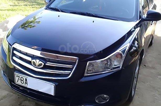 Cần bán lại xe Daewoo Lacetti đời 2010, màu đen, nhập khẩu  0