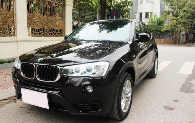 Xe BMW X3 xDrive20i màu đen nâu/ kem xe sản xuất 2014 đăng ký 2015 biển Hà Nội2