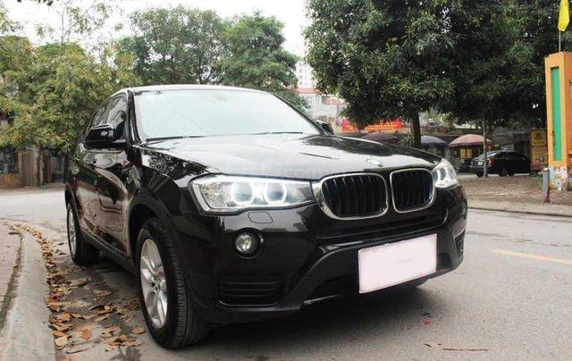Xe BMW X3 xDrive20i màu đen nâu/ kem xe sản xuất 2014 đăng ký 2015 biển Hà Nội3