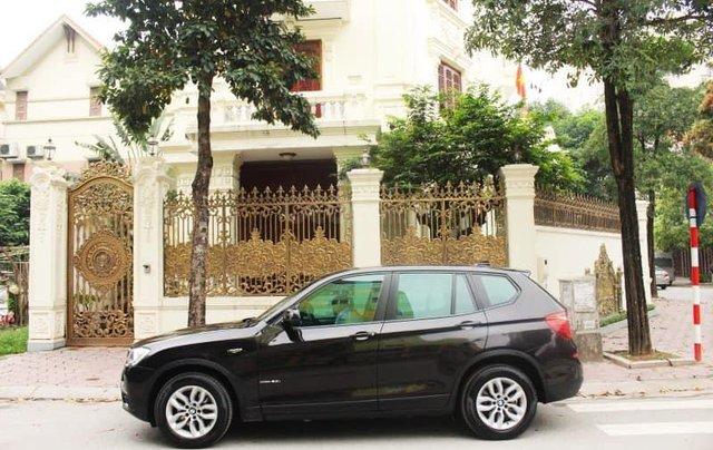 Xe BMW X3 xDrive20i màu đen nâu/ kem xe sản xuất 2014 đăng ký 2015 biển Hà Nội1