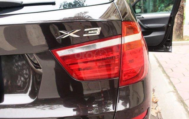 Xe BMW X3 xDrive20i màu đen nâu/ kem xe sản xuất 2014 đăng ký 2015 biển Hà Nội5