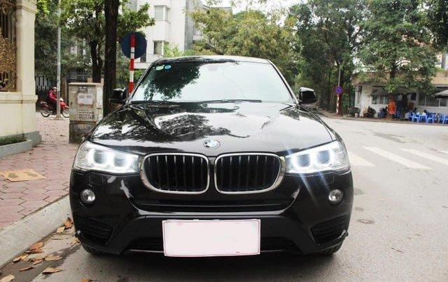Xe BMW X3 xDrive20i màu đen nâu/ kem xe sản xuất 2014 đăng ký 2015 biển Hà Nội0