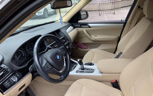 Xe BMW X3 xDrive20i màu đen nâu/ kem xe sản xuất 2014 đăng ký 2015 biển Hà Nội8