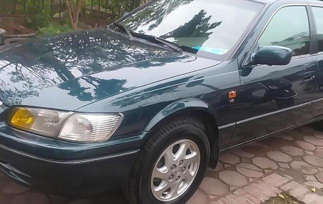 Cần bán lại xe Toyota Camry Grande 3.0 MT đời 2001, màu xanh lam, xe đẹp0