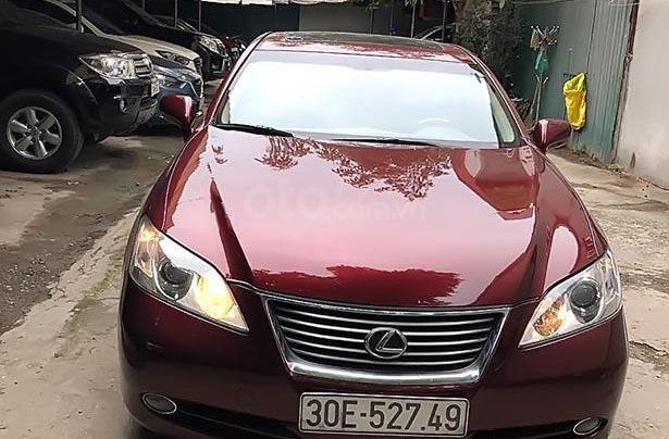 Cần bán gấp Lexus ES 350 năm 2007, màu đỏ, không tiếp thợ0