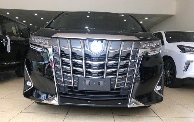 Bán Toyota Alphard Excutive Lounge 2019, màu đen, nhập khẩu nguyên chiếc0