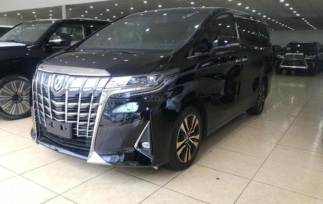 Bán Toyota Alphard Excutive Lounge 2019, màu đen, nhập khẩu nguyên chiếc2