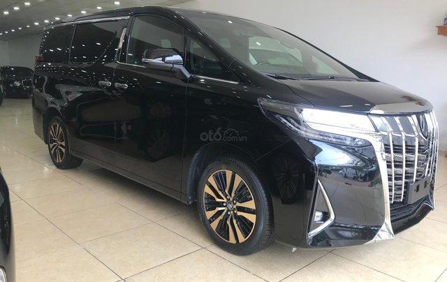 Bán Toyota Alphard Excutive Lounge 2019, màu đen, nhập khẩu nguyên chiếc4