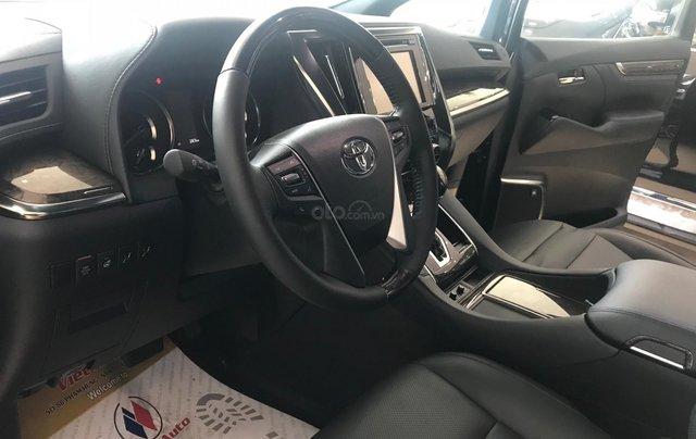 Bán Toyota Alphard Excutive Lounge 2019, màu đen, nhập khẩu nguyên chiếc10