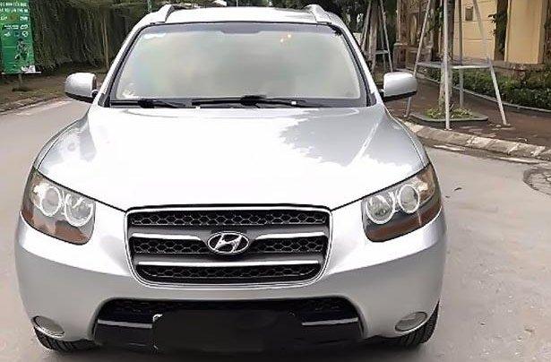 Cần bán xe Hyundai Santa Fe đời 2007, màu bạc chính chủ 1