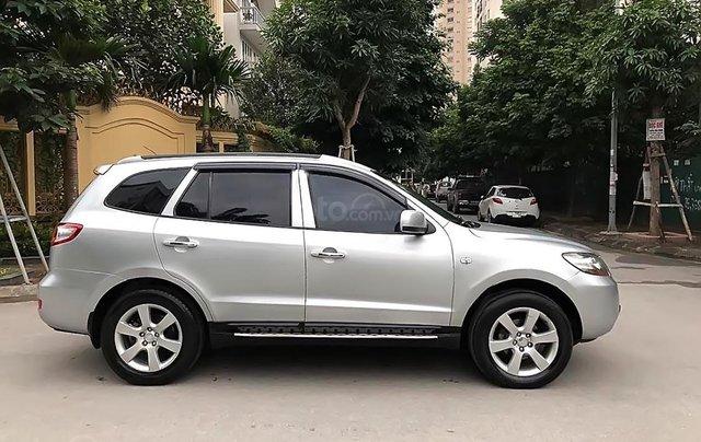 Cần bán xe Hyundai Santa Fe đời 2007, màu bạc chính chủ 0
