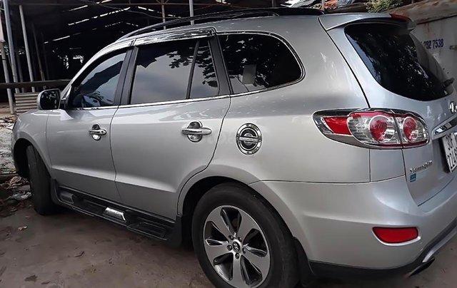 Cần bán xe Hyundai Santa Fe SLX 2.0AT đời 2012, màu bạc, nhập khẩu xe gia đình1