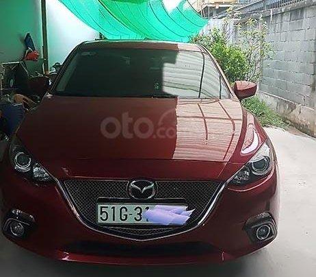 Bán ô tô Mazda 3 AT năm 2017, màu đỏ0