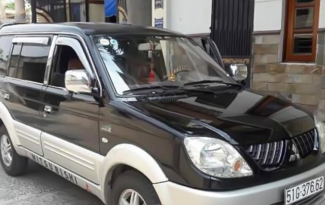 Bán Mitsubishi Jolie SS năm 2005, màu đen, xe gia đình 1